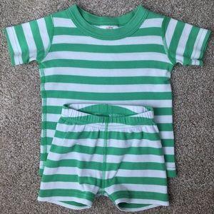 Hanna Andersson Short John Pajama Set for kids